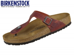 Birkenstock Gizeh 1015546 earth red Fettleder Oiled Leather