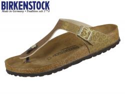 Birkenstock Gizeh 1016777 leopard gold Birkoflor