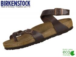 Birkenstock Yara 013391 oiled habana Fettleder