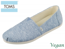 TOMS Alpargata 10014410 blue Chambray blue slub