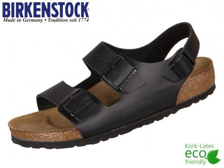 Birkenstock Milano 034191 schwarz Leder