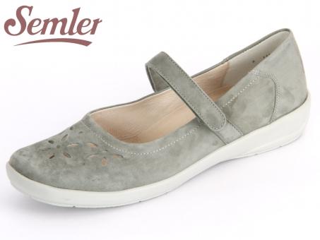 Semler Flora F5805-042-084 mint Samt-Chevro