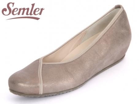 Semler Gina G5012-031-005 asphalt Metall-Velour