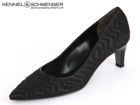 Kennel & Schmenger Selma 21 45600.310 schwarz Makramé Nappa