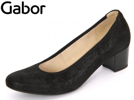 Gabor 65.380-67 schwarz Caruso Metallic