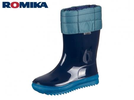 Romika Cosmos 05101-594 marine-petrol PVC schadstofffrei