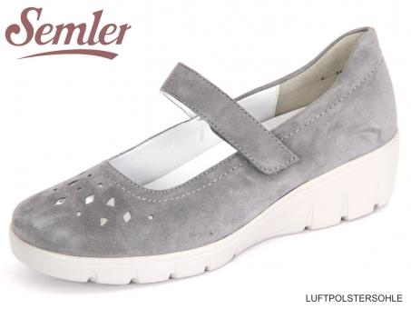 Semler Judith J7095-042-071 jeans Samt-Chevro