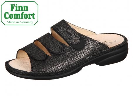Finn Comfort Kos 02554-901666 lava schwarz Doyle Buggy