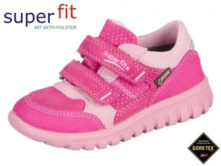 superfit SPORT- MINI 2-00190-64 pink kombi Velour  Tecno Textil