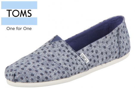TOMS 10011652 navy Chambery