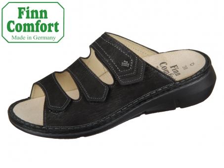Finn Comfort Kailua 02597-901819 schwarz Waving Nubuk