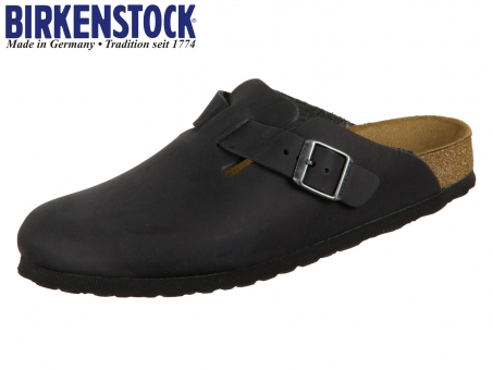 Birkenstock Boston 059463 black Nubuk Oiled