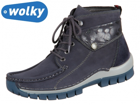 Wolky Jump Winter 047255800 blue Nepal Oiled Circles