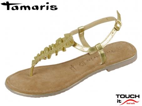 Tamaris 1-28143-22-940 gold Leder