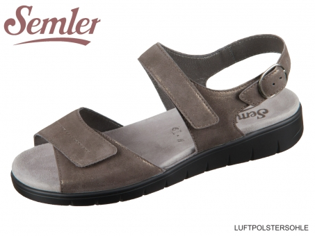 Semler Dunja D4045031030 fango Metallvelour