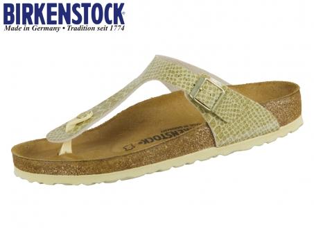 Birkenstock Gizeh 1011770 magic snake gold Birkoflor