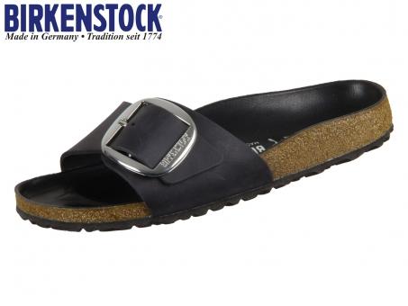 Birkenstock Madrid Big Buckle 1006523 black Natural Leather