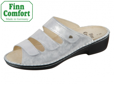 Finn Comfort Canzo 02688-640297 argento Slide