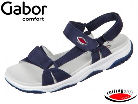Gabor Rolling Soft 26.928-36 blue Nubuk