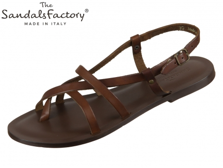 The sandals factory W6101 brown 530
