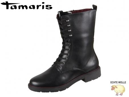Tamaris 1-26215-23-001 black Mix Leder Synthetik