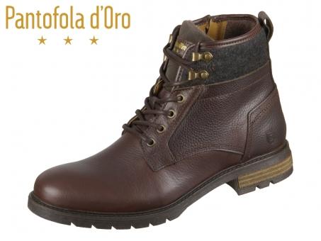 Pantofola d Oro Levico Uomo High 10193006-JKU coffee bean Leder