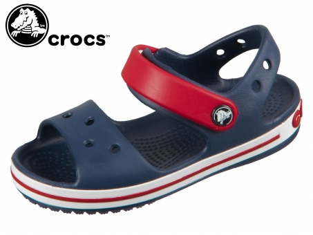 Crocs Crocband Sandal Kids 12856-485 navy red Crosslite