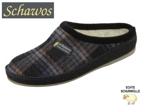 Schawos 6030-49 schwarz karo