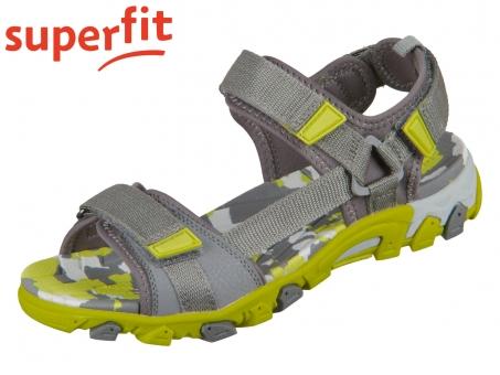 superfit Henry 0-600101-2000 grau gelb Tecno Textil