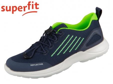 superfit RUSH 0-606213-8000 blau grün Textil Tecno