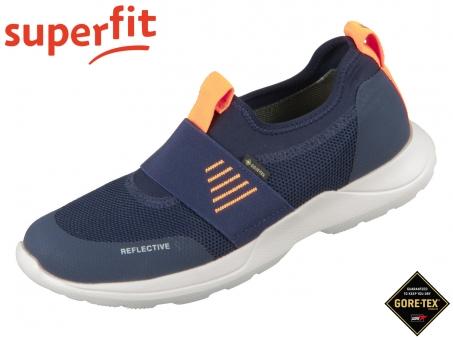 superfit RUSH 0-606214-8000 blau orange Textil Tecno