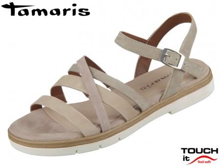 Tamaris 1-28114-24-796 olive combi Leder