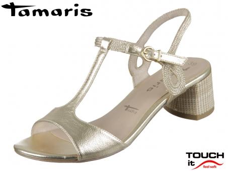 Tamaris 1-28219-24-979 light gold Synthetik