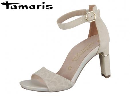 Tamaris 1-28303-24-421 beige structure Leder