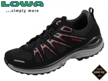 Lowa Innox Evo GTX Lo 310611-9901 schwarz rot Goretex
