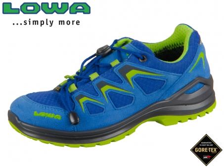 Lowa Innox Evo GTX junior 350128-6003 blau limone GTX