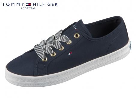 Tommy Hilfiger Essential Nautical Sneaker FW04848-DW5 desert sky