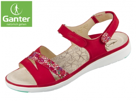 Ganter Gina 20 0112-4000 red Softnubuk Mosaico