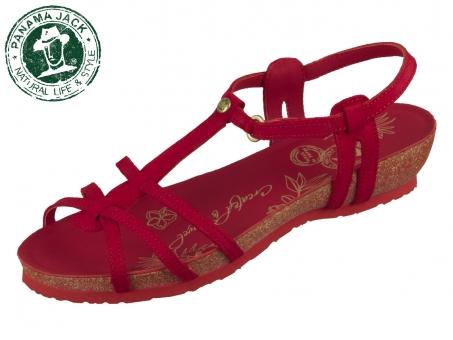 Panama Jack Dori Basics Dori Basics B8 rojo red Nobuck