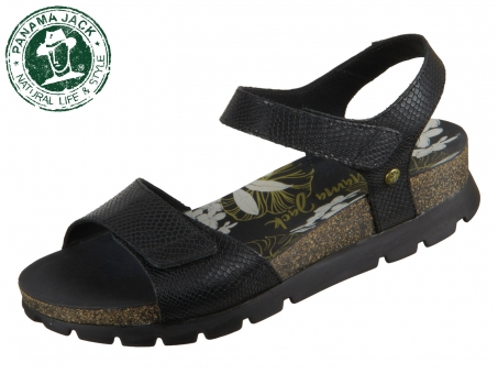 Panama Jack Scarlett Amazonic Scarlett Amazonic B2 negro black Napa Grass