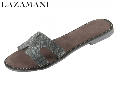 Lazamani 33.736 pewter Leder