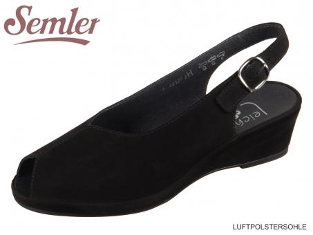 Semler Lissy L2602-040-001 schwarz Nubukina