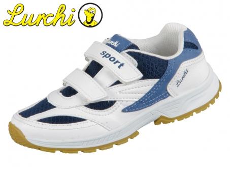 Lurchi Matti 33-23420-39 white navy Synthetik Textil