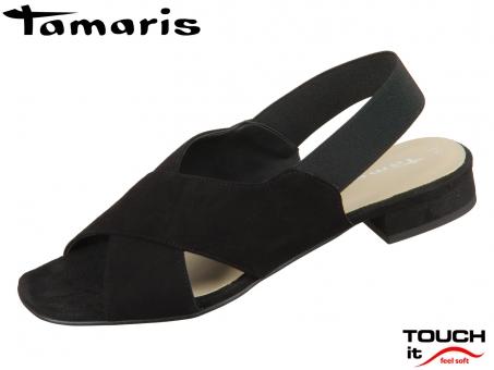Tamaris 1-28017-34-001 black Leder