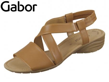 Gabor 44.550-24 cognac Nappa