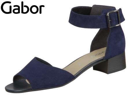Gabor 41.723-16 bluette Samtchevreau