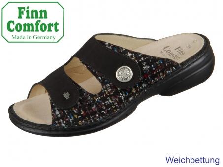 Finn Comfort Zeno 05003-902111 black schwarz Braid Nubuk Stretch