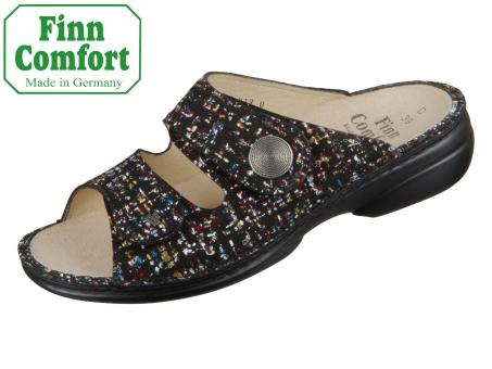 Finn Comfort Sansibar 02550-667393 black Braid