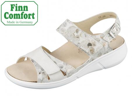 Finn Comfort Nadi 03351-902096 stone bianco Pebble Nubuk
