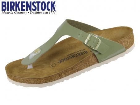 Birkenstock Gizeh 1013071 khaki Birkoflor Patent